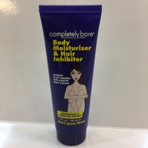 5/$25 completely bare moisturizer & hair inhibitor